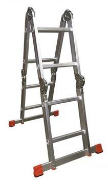 Imagen de Escalera Mini andamio c/plataforma chapa mulituso 2.5mts