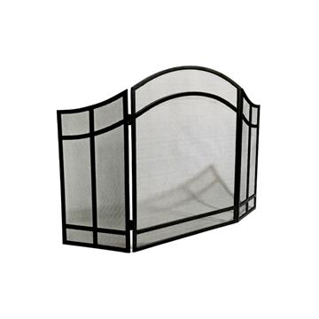 Imagen de Chispero Para Estufa Articulado 72x122cm Negro - Ynter