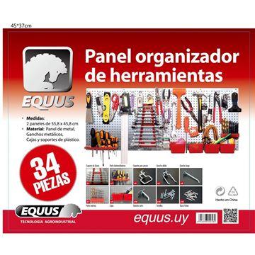 Imagen de Panel organizador de  34 herramientas Equus - Ynter Industrial
