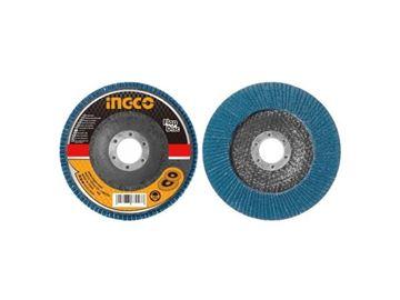 Imagen de Disco Flap Ingco 115mm Grano 40 - Ynter Industrial