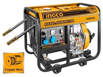 Imagen de Generador Diesel 5.0kw Arranque Electrico Ingco - Ynter