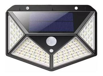 Imagen de Lampara solar led c/sensor de movimiento  - Ynter Industrial