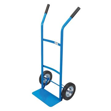Imagen de Carro Carga 2 Manos Azul Rueda Maciza 80kg - Ynter